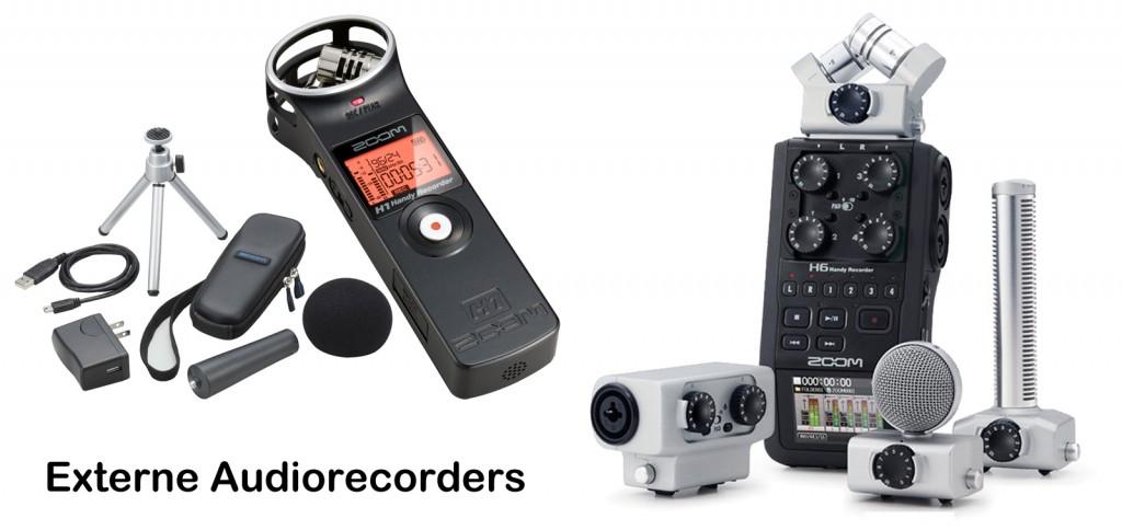 Externe Audiorecorders