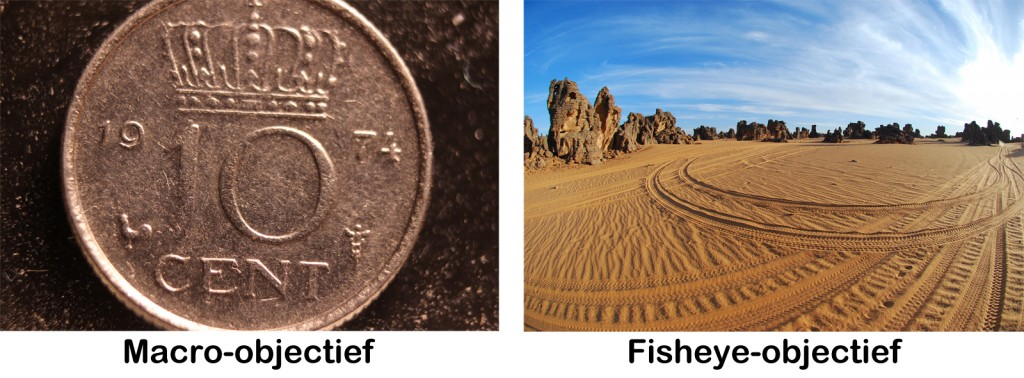 Macro vs fisheye